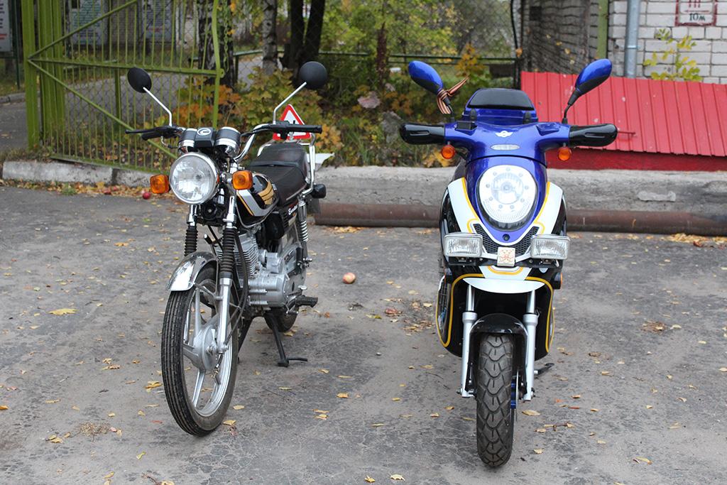 Мотоцикл EUROTEX GW 125